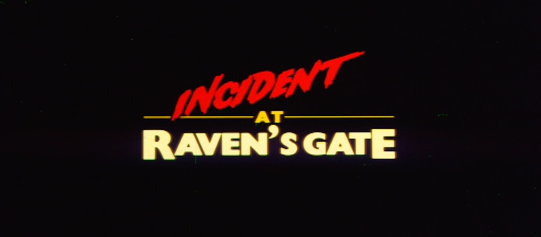 Incident at Raven's Gate - Review - Photos - Ozmovies