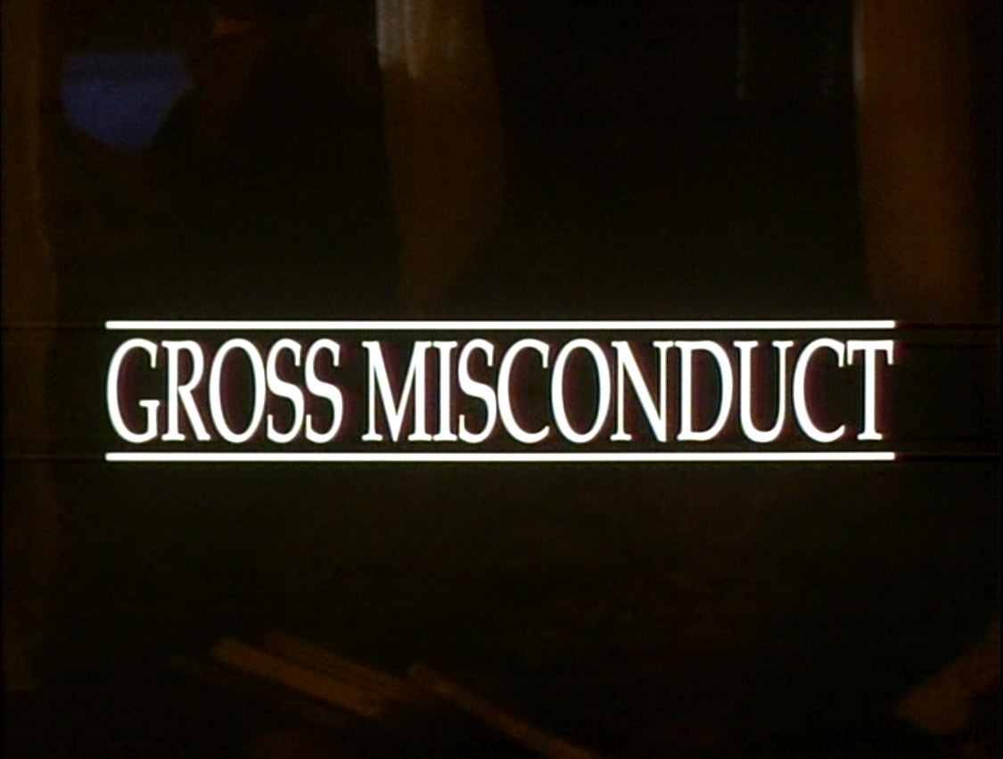 gross misconduct (1993) watch online
