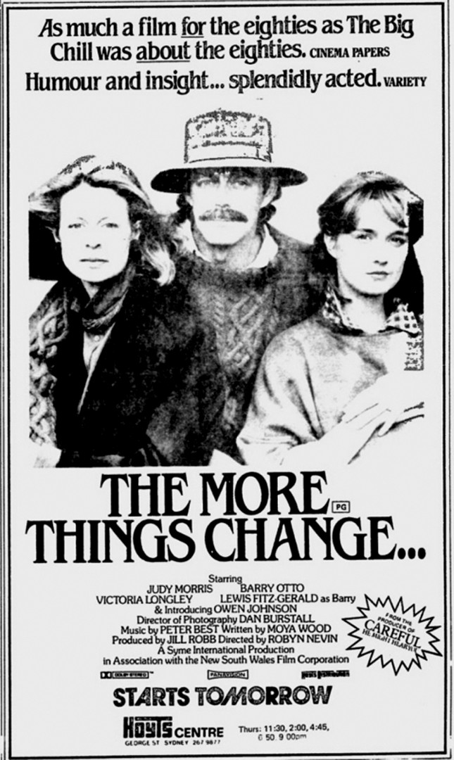 The More Things Change     - Review - Photos - Ozmovies
