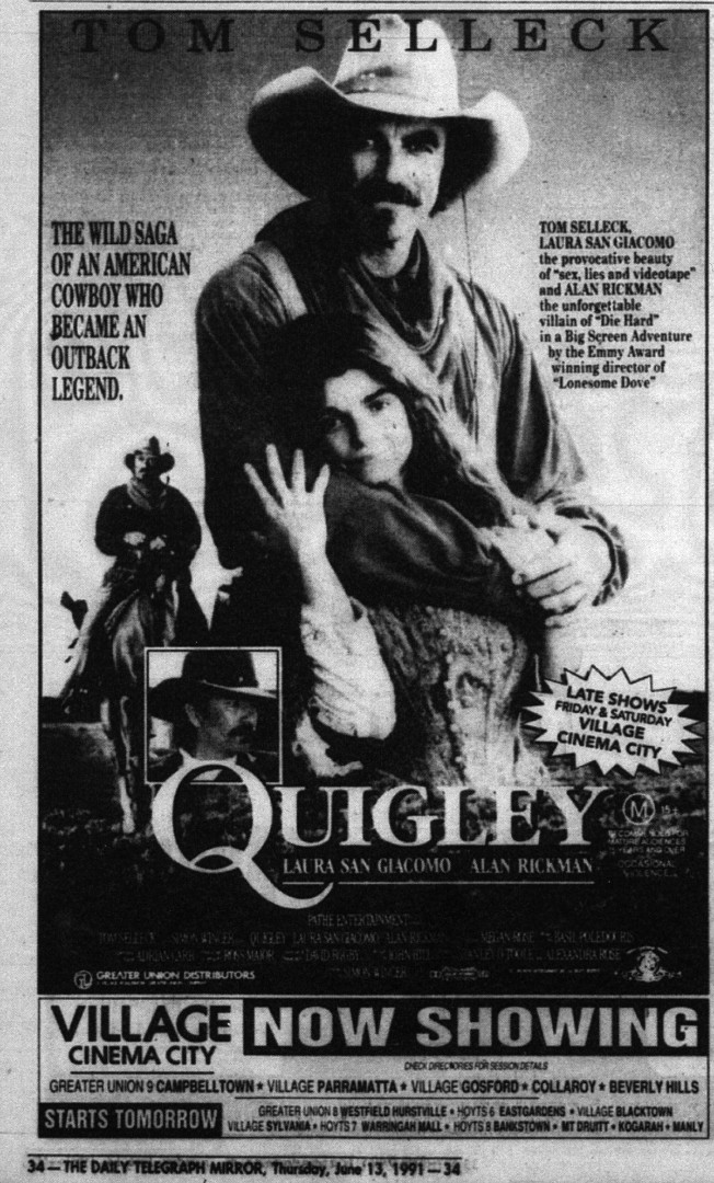 4d53b9a4a Quigley Down Under - Review - Photos - Ozmovies
