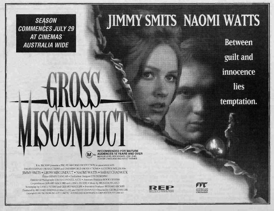 gross misconduct film 1993